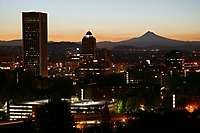 Portland Facing East Daybreak