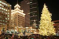 Portland Christmas Tree Lighting