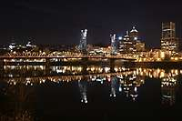 Portland River Reflections Night