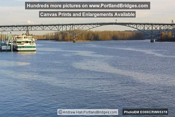 Ross Island Bridge, Willamette River, Portland