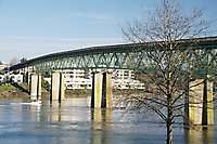 Portland Sellwood Bridge Buildings
